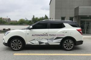 ssangyong autonome